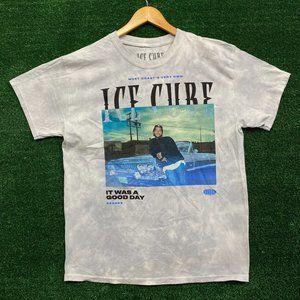 Ice cube tie dye shirt size Large
